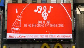 Coca-Cola Digital Billboard