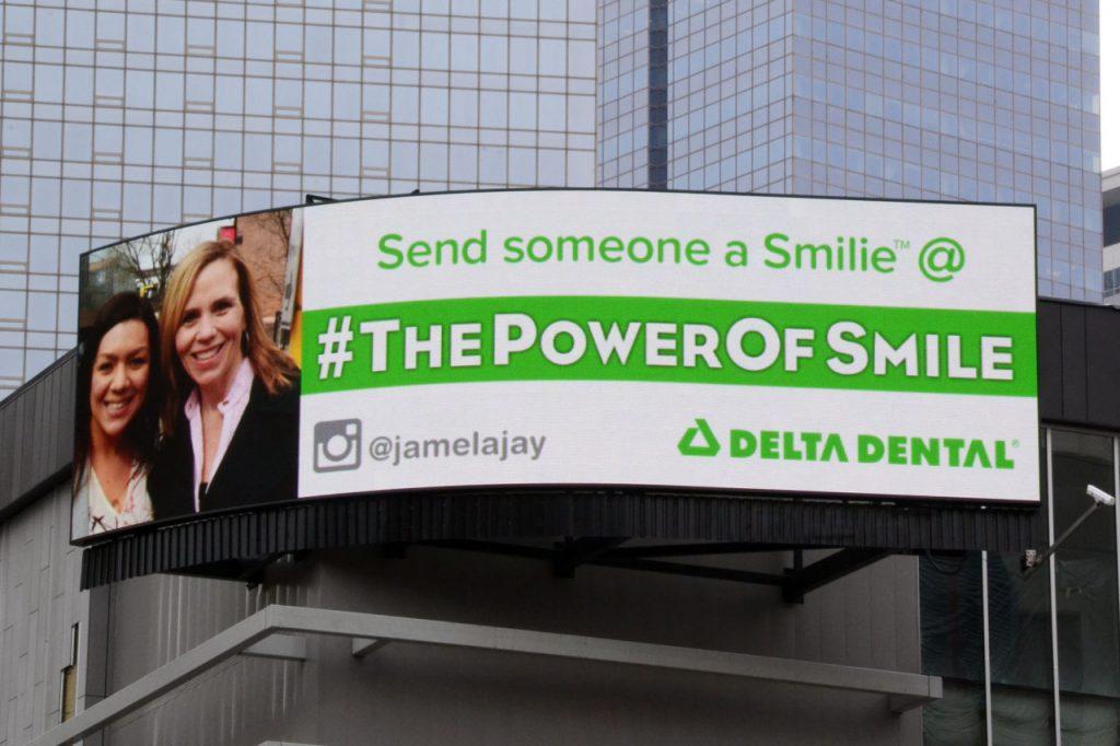 Delta Dental Digital Billboard