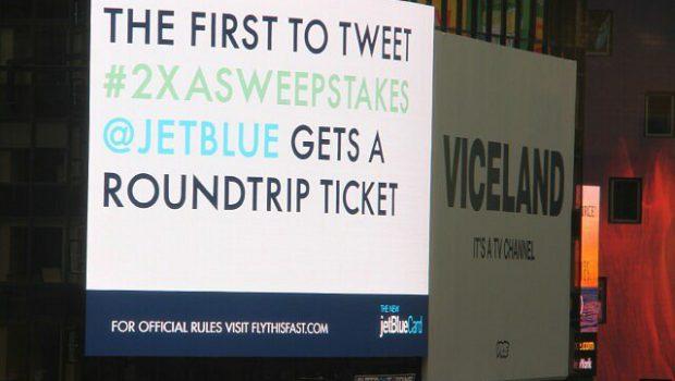 JetBlue Digital Board